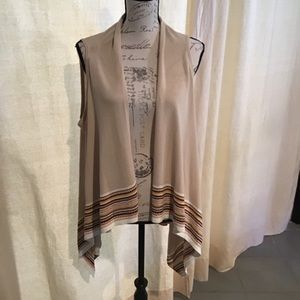 NWT Ruby Rd light Sweater Vest